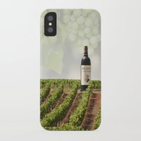wine iPhone & iPod Cases featuring Wine by Gouzelka