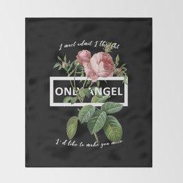Harry Styles Only Angel Artwork Throw Blanket