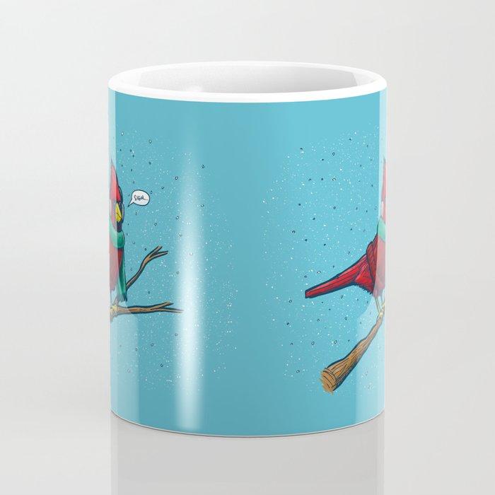 Annoyed IL Birds: The Cardinal Coffee Mug