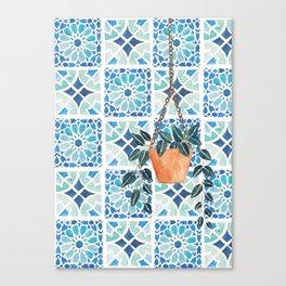 Moroccan Tiles Canvas Print