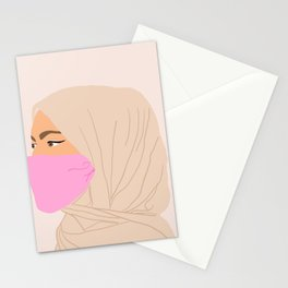 pandemic times circa 2020 Stationery Cards