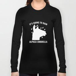 Alpaca Umbrella Long Sleeve T-shirt