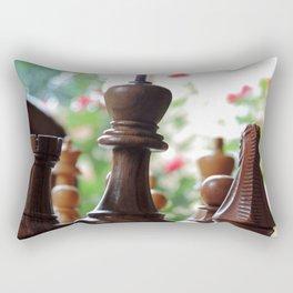 The Queen & Her Roses Rectangular Pillow