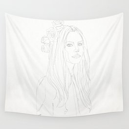 STAR COLLECTION | LANA DELREY Wall Tapestry