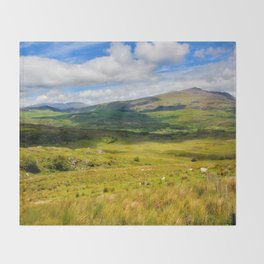Welsh Views Throw Blanket