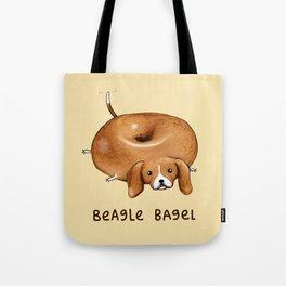 Beagle Bagel Tote Bag