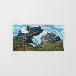 Standing on a Cliff Hand & Bath Towel
