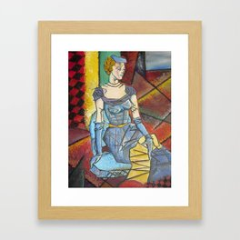 Madam Abstract Framed Art Print