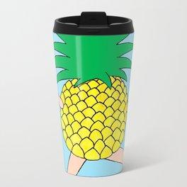 Pineapple Two Metal Travel Mug