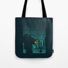 Come on, Mr. Bubbles! Tote Bag