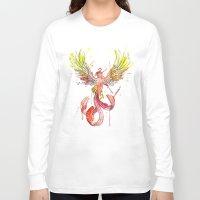 phoenix Long Sleeve T-shirts featuring Phoenix by Simona Borstnar