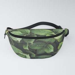 Peek-a-boo Leaves   Spring Photography Fanny Pack