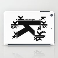 kafka iPad Cases featuring KAFKAESQUE by THE USUAL DESIGNERS