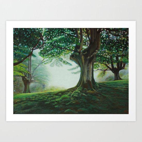 Fairy Tale Forest Art Print