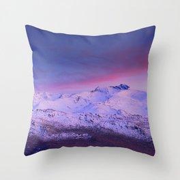 Sierra Nevada mountains. More than 3000 meters hight Throw Pillow