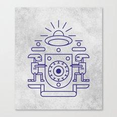 UFO Watchers Canvas Print