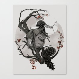 ÆFTERA YULE Canvas Print