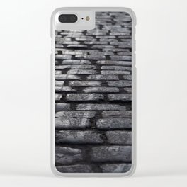 Winter Street Clear iPhone Case