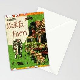 Tiki Art Exotic Waikiki Room Stationery Cards