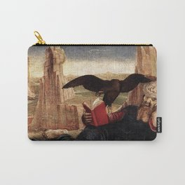 Cosimo Tura - Saint John the Evangelist in Patmos Carry-All Pouch