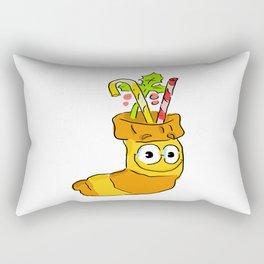 Christmas sock! Rectangular Pillow