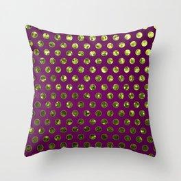 Polkadots Jewels G196 Throw Pillow