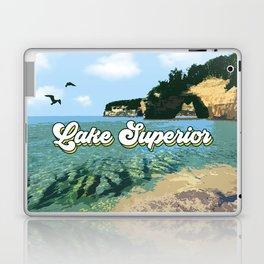 Lake Superior Retro Laptop & iPad Skin