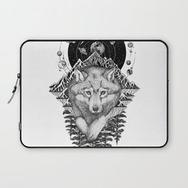 Space Wolf Laptop Sleeve