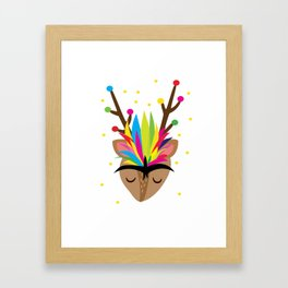 Friducha Holiday Framed Art Print