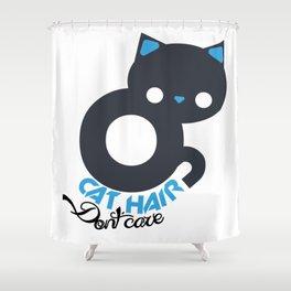 Little baby cat Shower Curtain