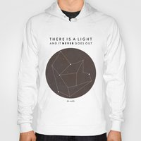 nan lawson Hoodies featuring There Is A Light by Nan Lawson