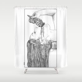 asc 669 - L'esagerata (My name is Excess) Shower Curtain