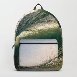 Green and Gold Backpack