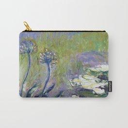 Claude Monet - Agapanthus Carry-All Pouch