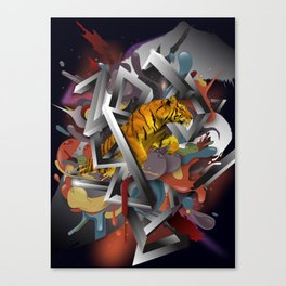 Year of The Tiger Canvas Print