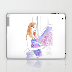 Elle Fanning, Somewhere Laptop & iPad Skin