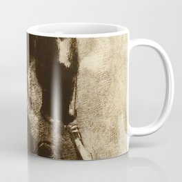 "Odilon Redon ""Captured Pegasus"" Coffee Mug"
