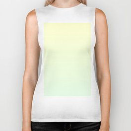 Color gradient 10. Yellow and green. abstraction,abstract,minimalism,plain,ombré Biker Tank