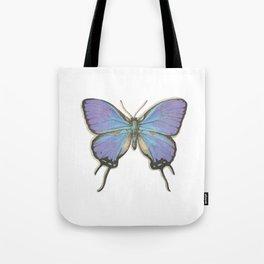 Butterflies: Blue Hairstreak Tote Bag