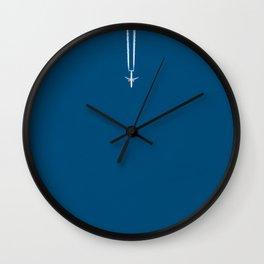 Jetset - Bluest Blue Wall Clock