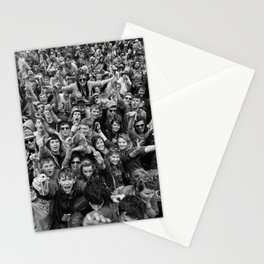 Mass hysteria Stationery Cards