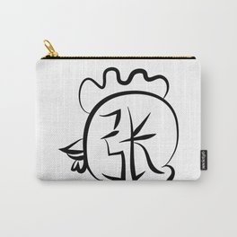 Chinese New Year of Rooster surname Cheung Carry-All Pouch
