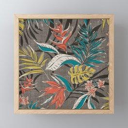 Bali Tropics - Cabana Framed Mini Art Print