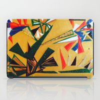 oakland iPad Cases featuring Oakland Wall Flower by Oakland.Style