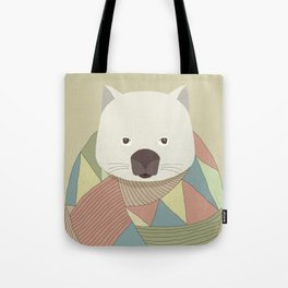 Whimsical Wombat Tote Bag