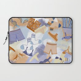 Laundry Day illustrated underwear print skivvies Laptop Sleeve