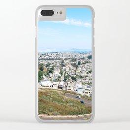 San Fran Skies Clear iPhone Case