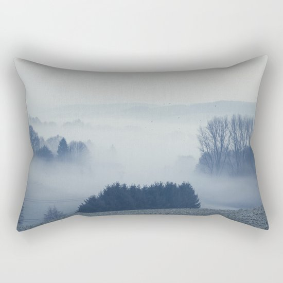 White Cover Rectangular Pillow