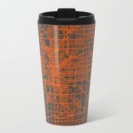 Indianapolis map Travel Mug