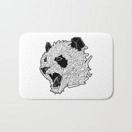 Geometric Panda Bath Mat